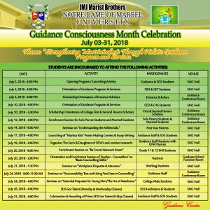 guidance consciousness tarp sked 2018