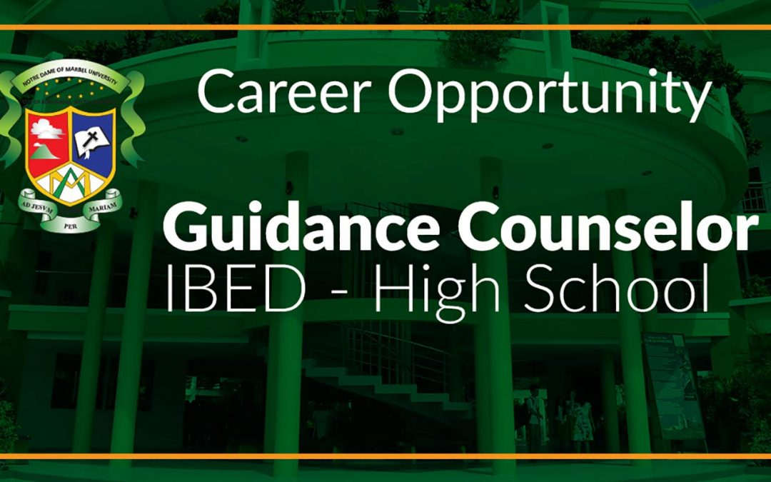 GUIDANCE COUNSELOR- IBED HIGH SCHOOL