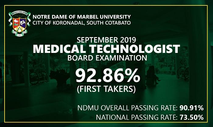 40 NDMU grads now RMTs