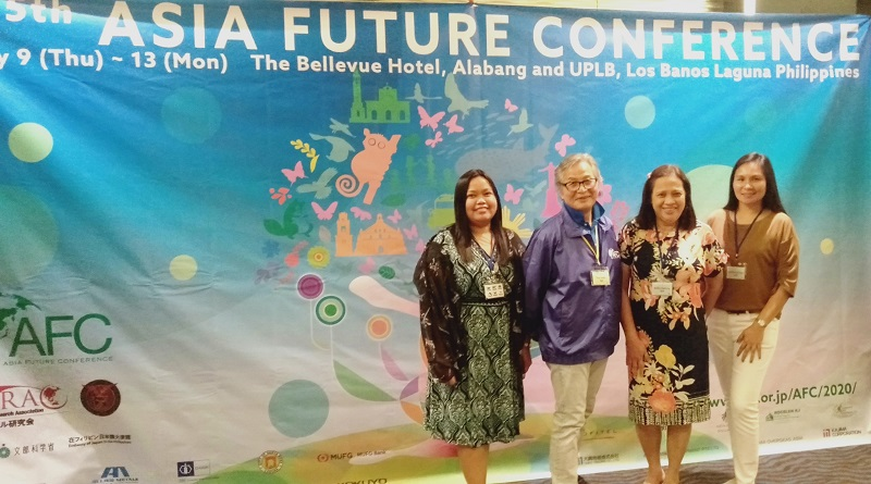 NDMU profs present papers on Asia Future Conference
