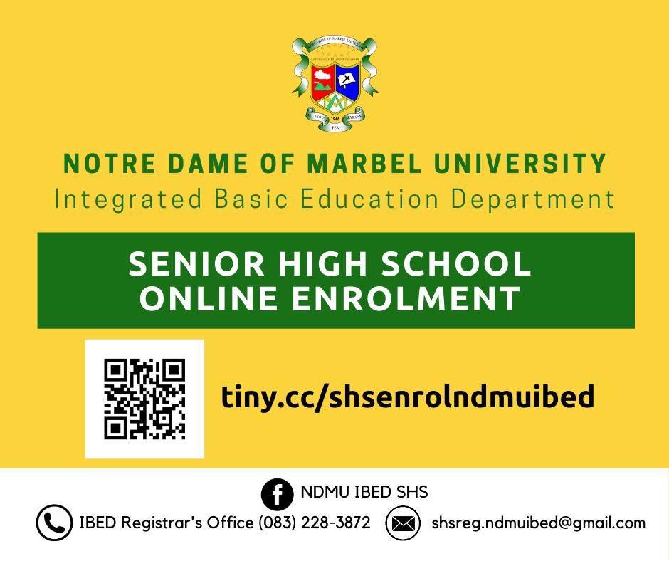 SHS Online Enrollment Link